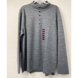 Zeroxposur Soft Fleece Heathered Pullover Size: XL